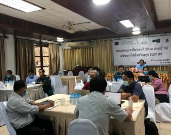 Strengthening the knowledge and capacity of the Lao Civil Society…