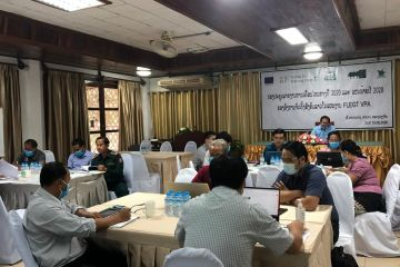 Strengthening the knowledge and capacity of the Lao Civil Society Organization (CSO) to effectively involve in FLEGT VPA process (Forest Law Enforcement, Governance and Trade towards Voluntary Partnership Agreement)