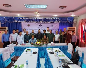 Joint Provincial Coordination Committee (PCC) Meeting in Khammouane Province