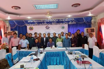Joint Provincial Coordination Committee (PCC) meeting held in Khammouane province